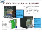ii atca telecom system a 0 99999