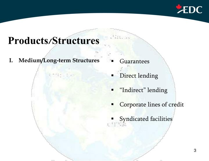 Products/Structures