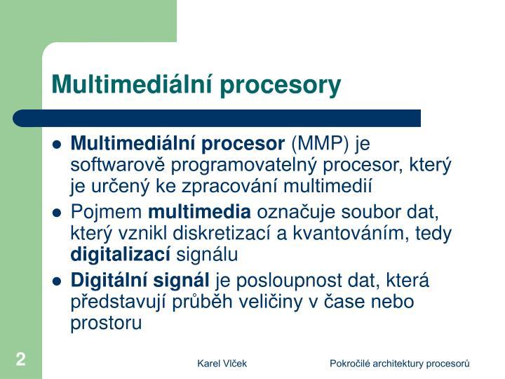 Multimedi ln procesory