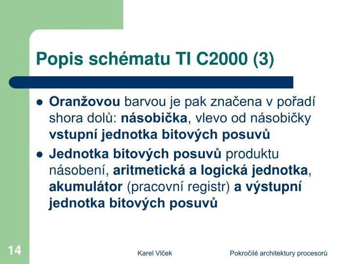 Popis schématu TI C2000 (3)