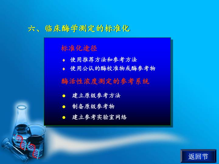 六、临床酶学测定的标准化
