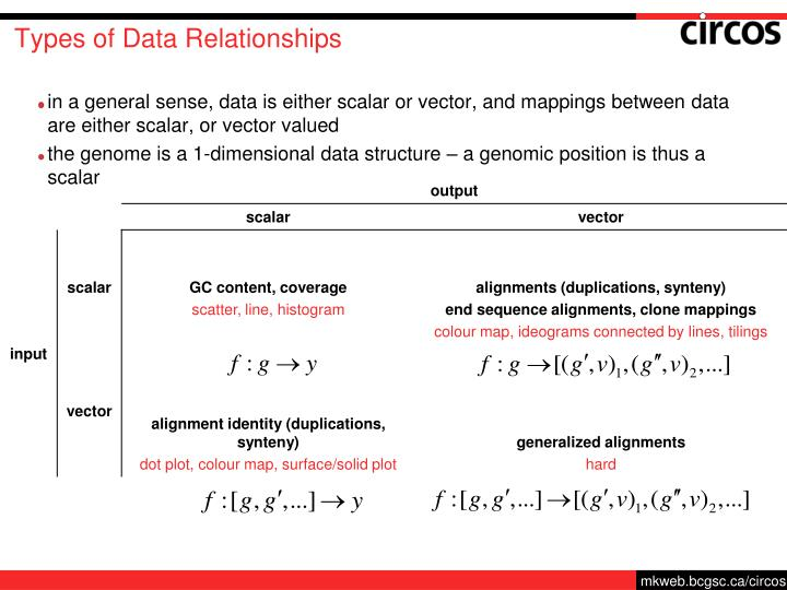 Types of Data Relationships