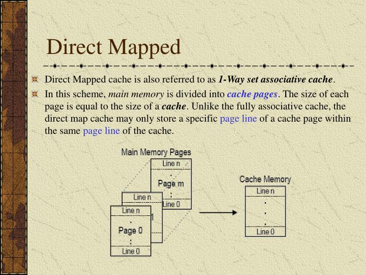 Direct Mapped