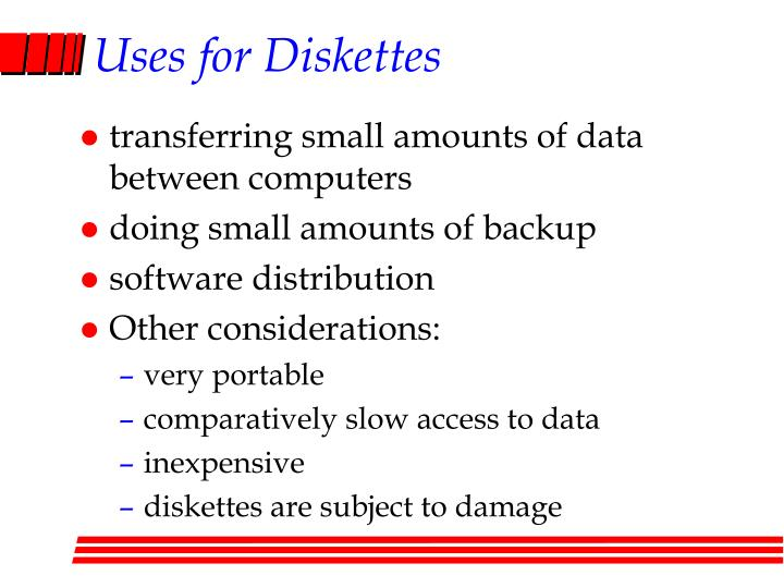 Uses for Diskettes