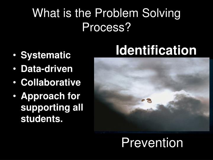 What is the Problem Solving Process?