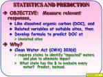 statistics and prediction