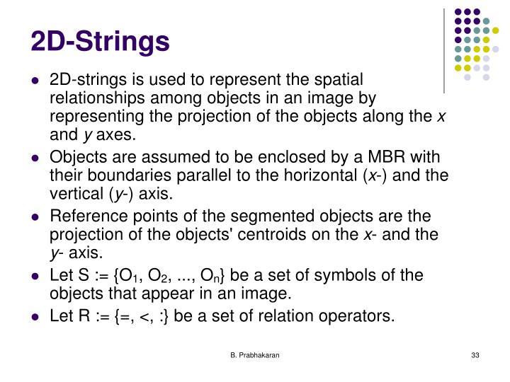 2D-Strings