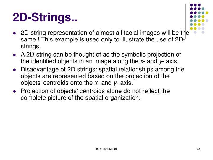 2D-Strings..