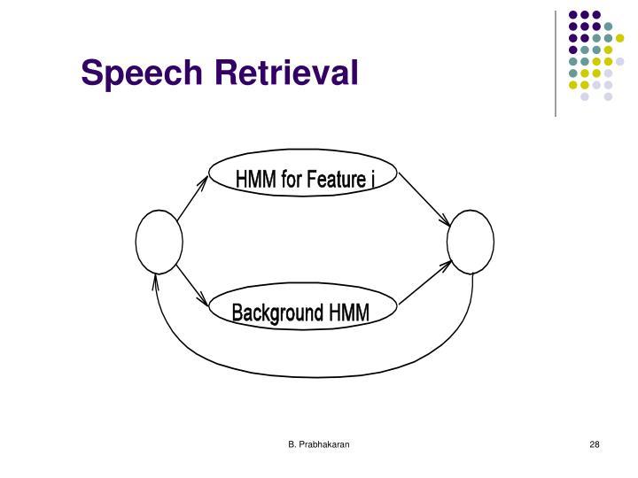 Speech Retrieval