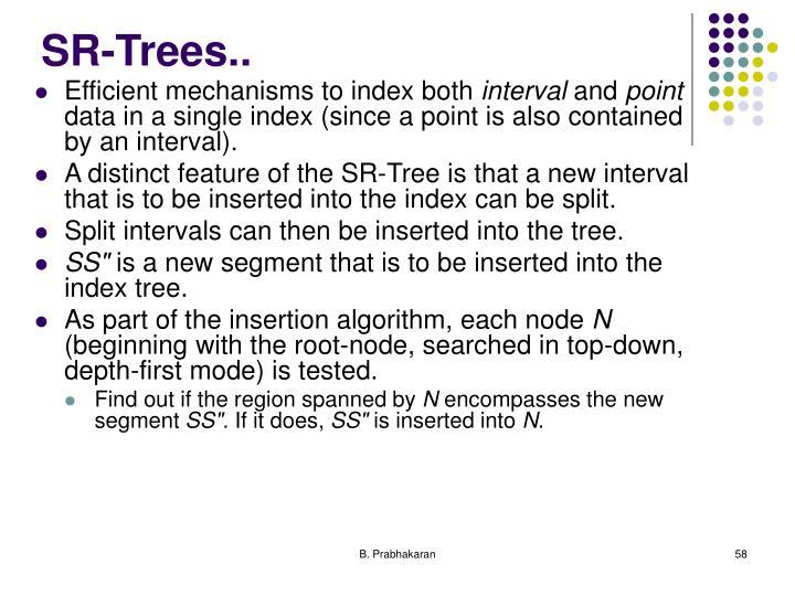 SR-Trees..
