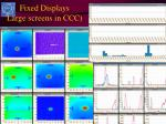 fixed displays large screens in ccc