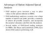 advantages of option adjusted spread analysis
