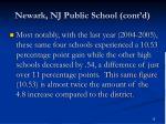 newark nj public school cont d