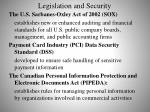 legislation and security1