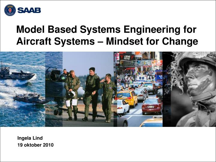 model based systems engineering for aircraft systems mindset for change n.