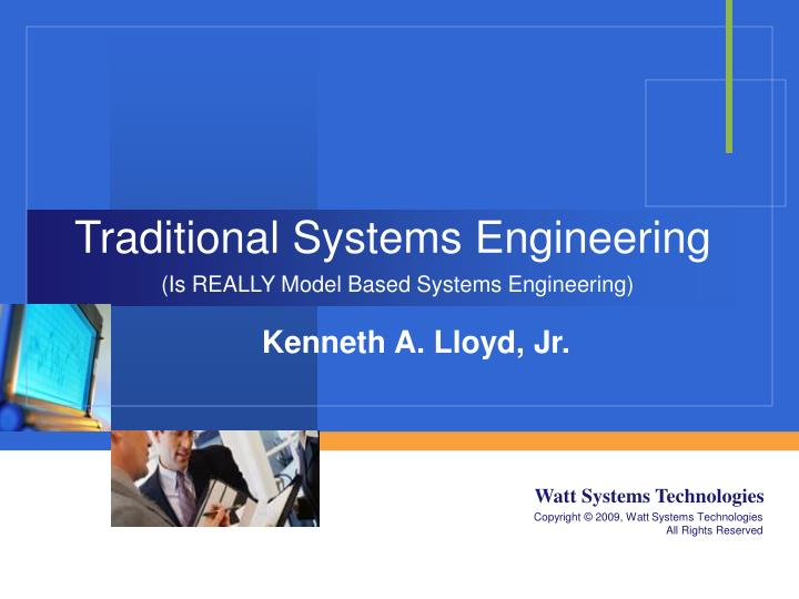traditional systems engineering n.