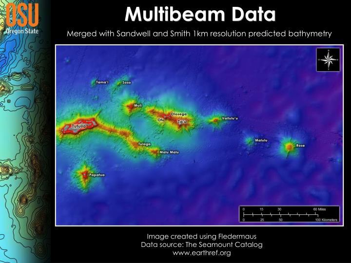 Multibeam Data