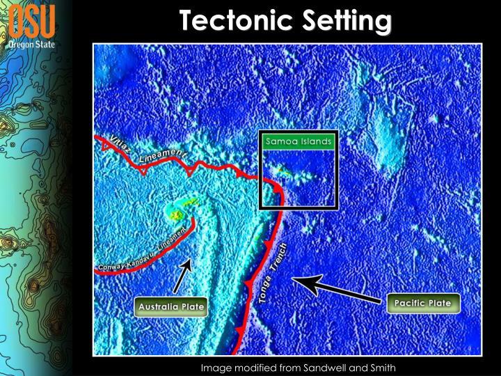 Tectonic Setting