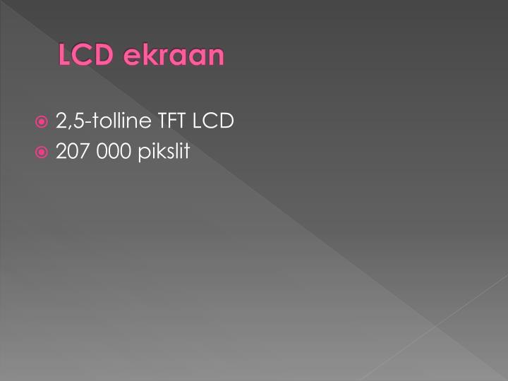 LCD ekraan