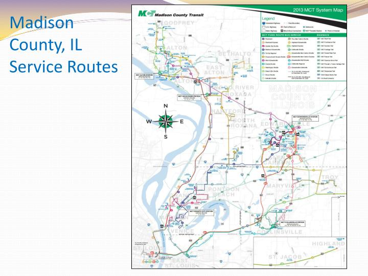 Madison County, IL Service Routes