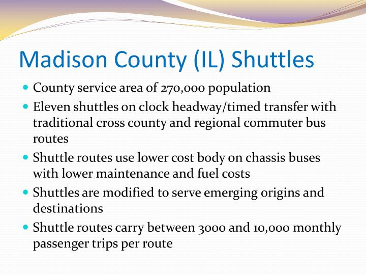 Madison County (IL) Shuttles