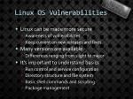linux os vulnerabilities1