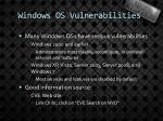 windows os vulnerabilities1