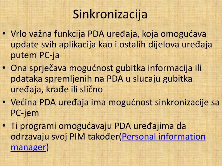 Sinkronizacija