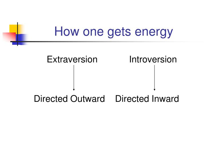How one gets energy