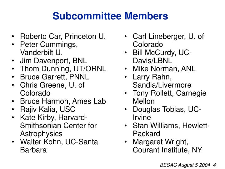 Roberto Car, Princeton U.