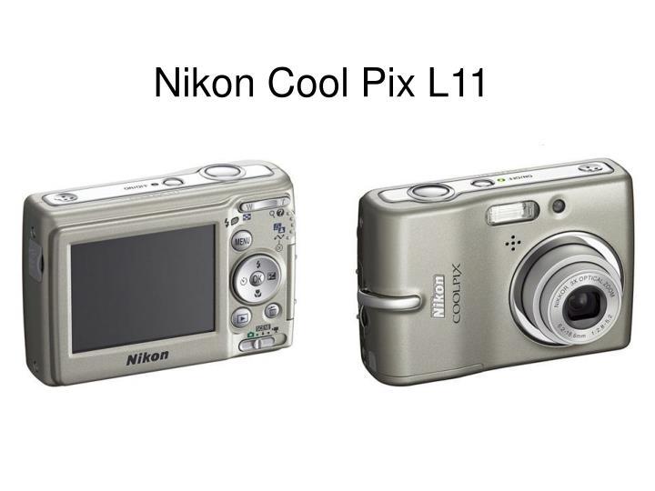 Nikon cool pix l11