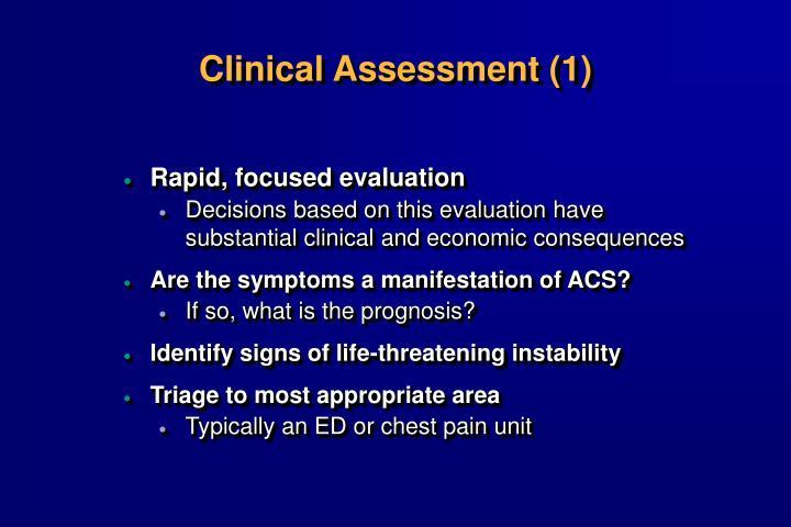Clinical Assessment (1)