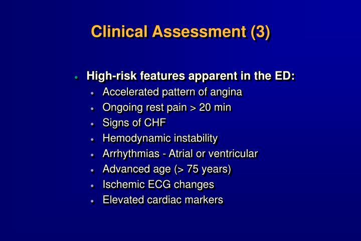 Clinical Assessment (3)