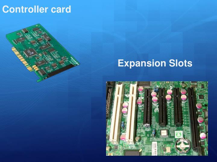 Controller card