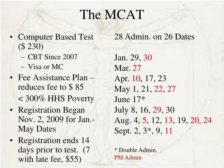 The MCAT