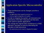 application specific microcontroller2