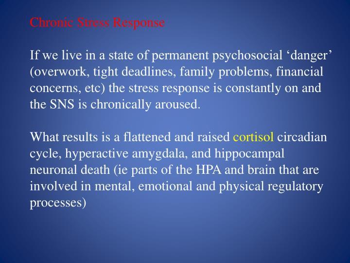 Chronic Stress Response