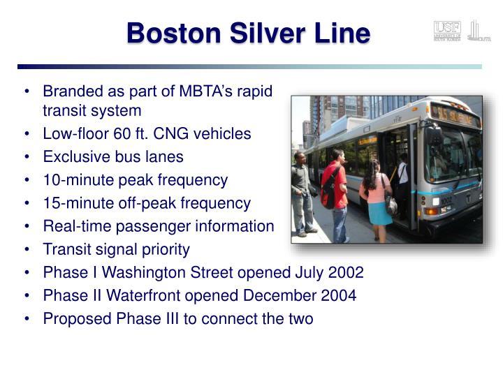 Boston Silver Line