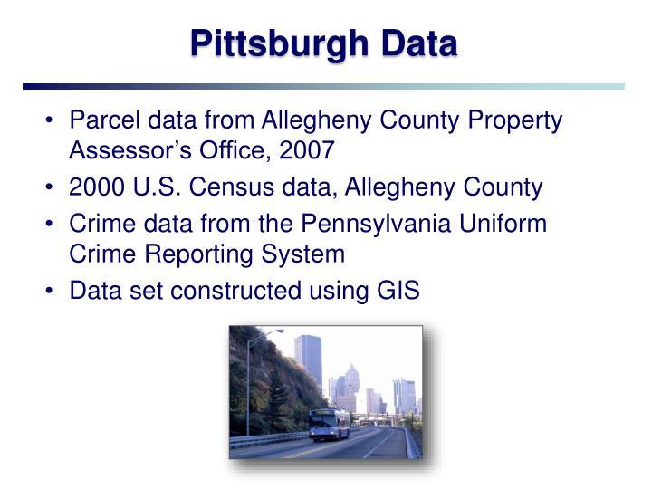 Pittsburgh Data