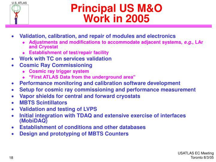 Principal US M&O