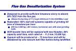 flue gas desulfurization system1