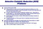 selective catalytic reduction scr problems