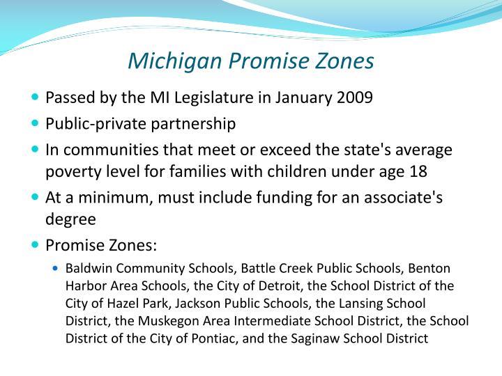 Michigan Promise Zones