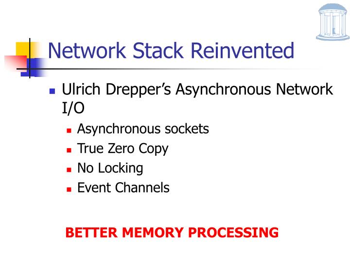 Network Stack Reinvented