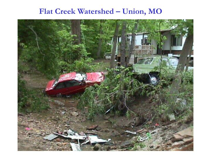 Flat Creek Watershed – Union, MO