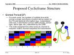proposed cyclicframe structure5