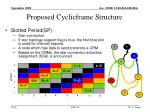 proposed cyclicframe structure8