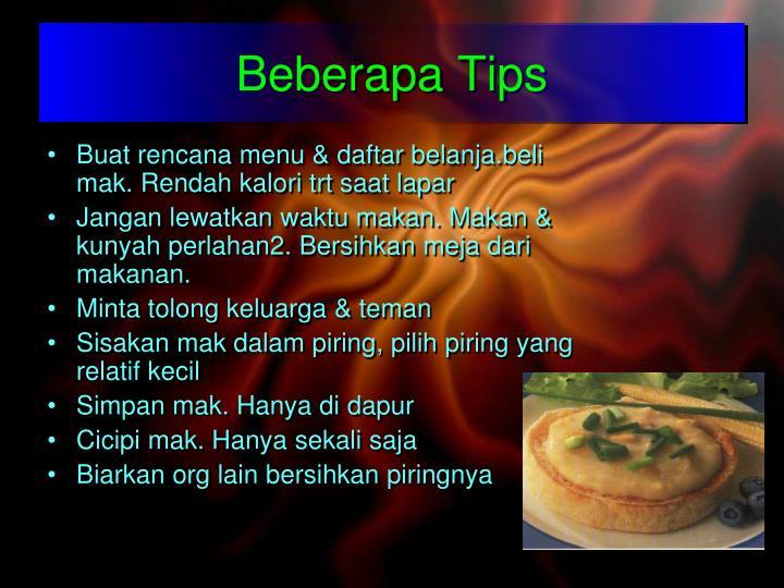 Beberapa Tips