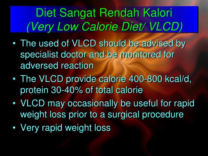 Diet Sangat Rendah Kalori