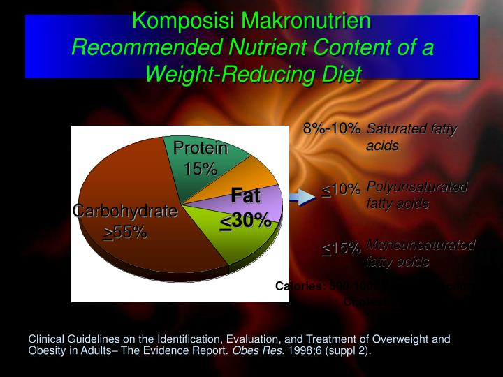 Komposisi Makronutrien